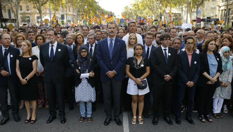 Barcelona prepara una gran marcha contra el terrorismo
