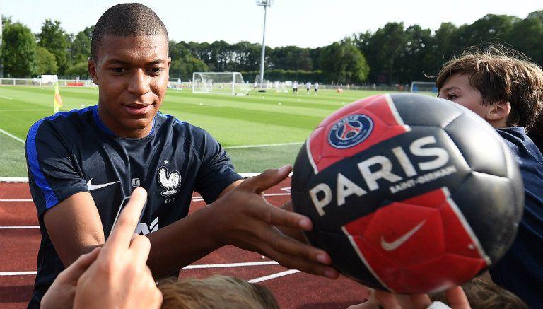 Mbappé usará el dorsal 29 en PSG
