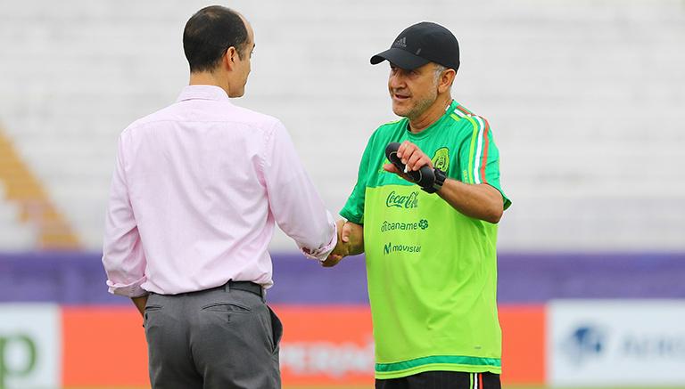 Decio quiere que México sea cabeza de serie en Mundial