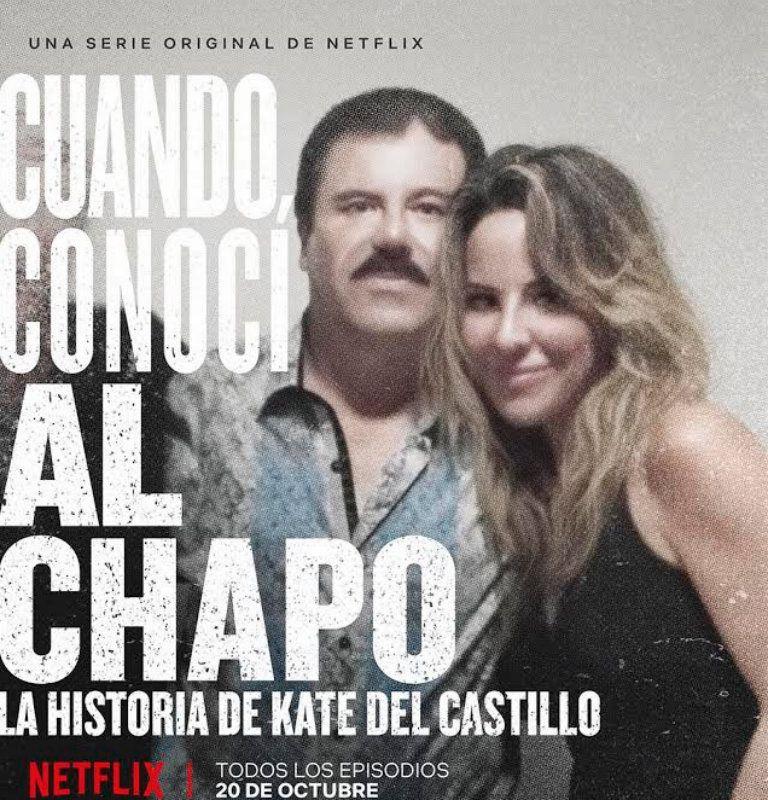 Portada del documental 'Cuando conocí al Chapo'