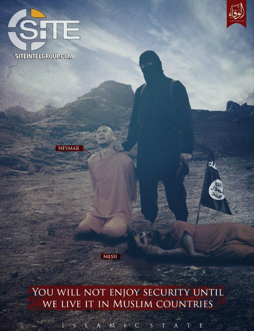 ISIS lanza amenza contra Neymar