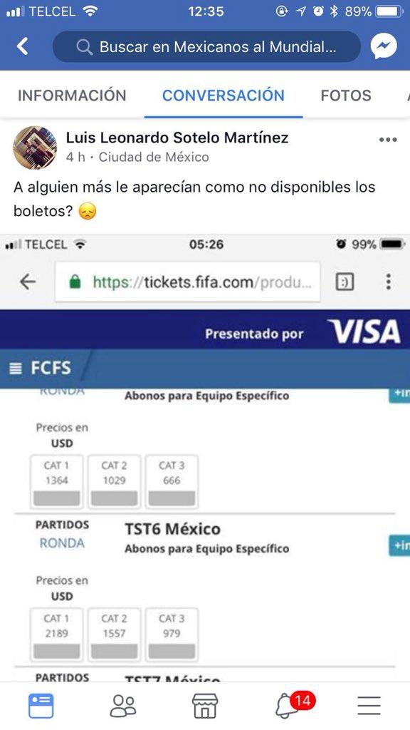 Aficionado no pudo conseguir boletos para México