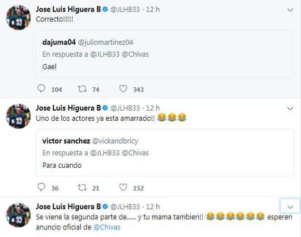 Así informó Higuera el fichaje de Gael Sandoval