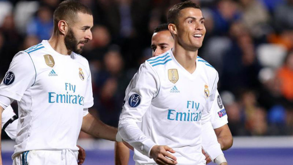 Cristiano Ronaldo festeja anotación