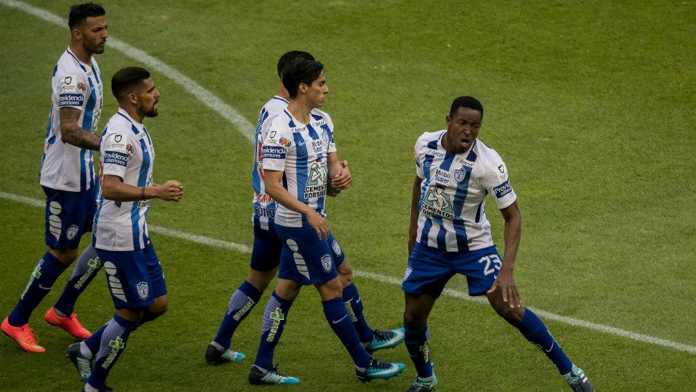 Murillo desteja el gol del 1-1 contra las Águlias