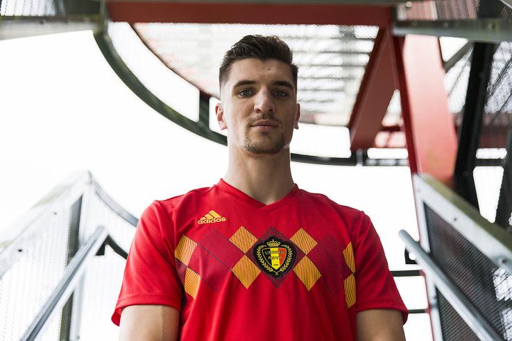 Así es la nueva playera de Bélgica