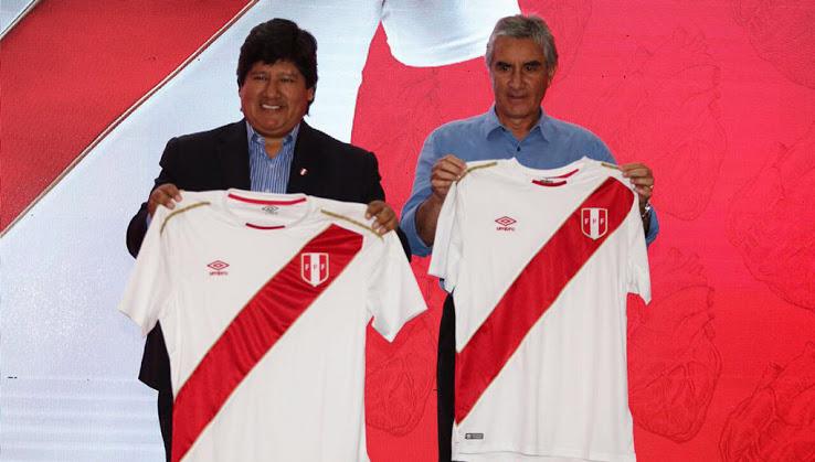 Ésta es la playera que Perú portará en Rusia 2018