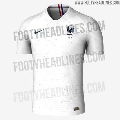Así será la camiseta de Francia 9180f7e2abafe