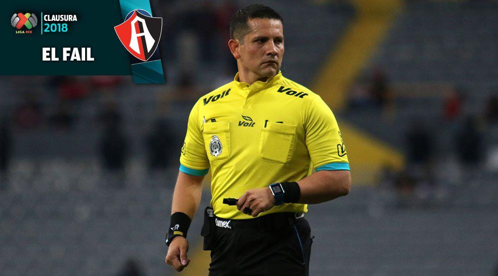 Diego Montaño, durante el Atlas vs Querétaro