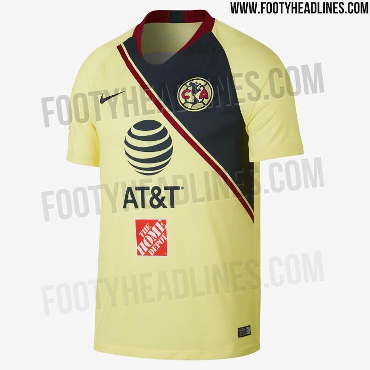 Filtran camiseta del América para el Apertura 2018 c6c5829f098ef