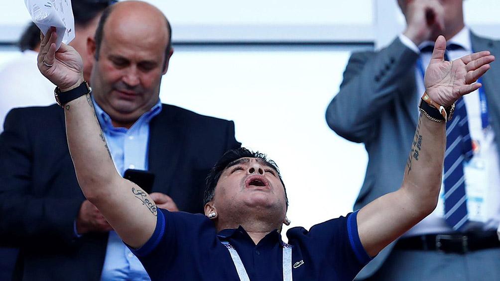 Maradona busca fichar a Hirving Lozano [Rusia 2018]