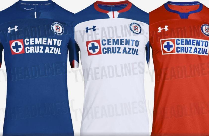 Posibles jerseys de Cruz Azul para el Apertura 2018