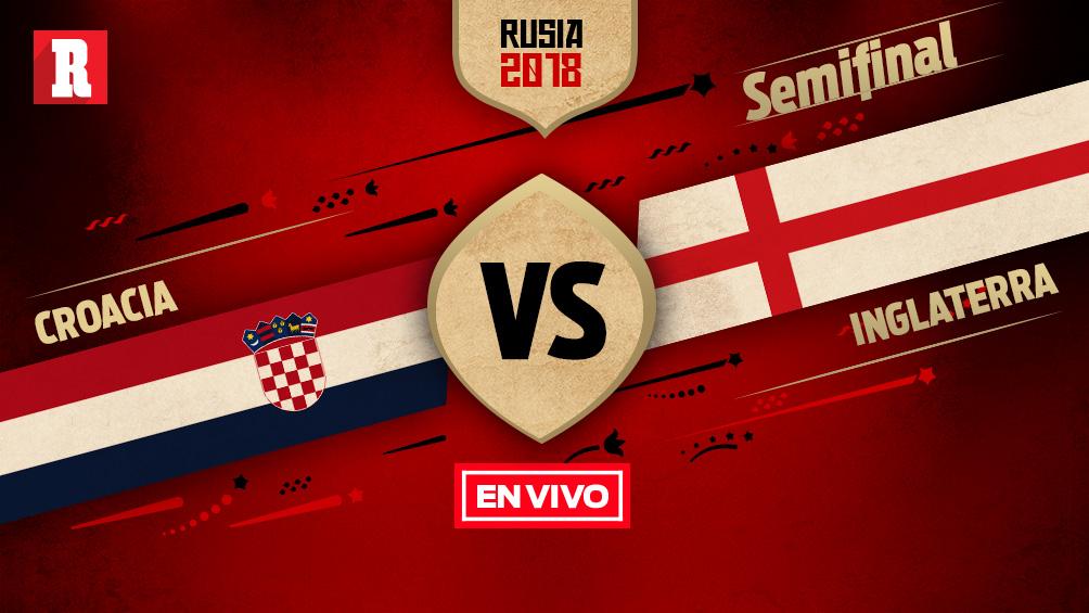 Croacia Vs Inglaterra Semifinales Mundial Rusia 2018 En Vivo Y En Dire...