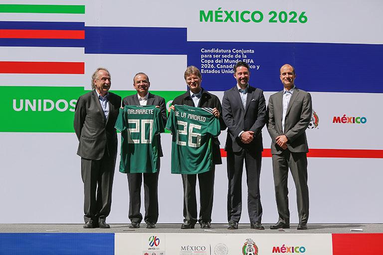El último logro del presidente de la Femexfut fue amarrar la sede conjunta para el Mundial de 2026