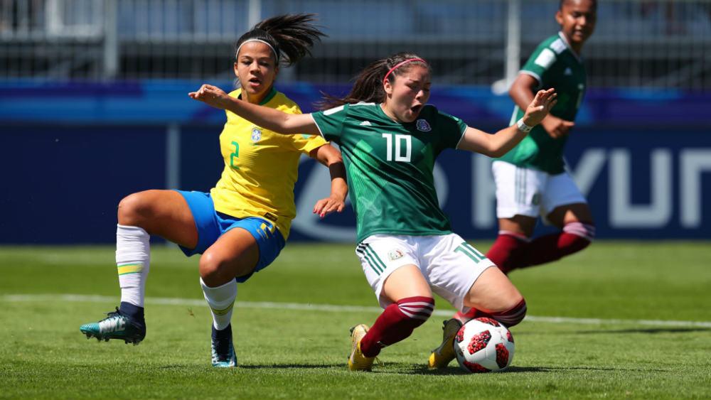 México se impone 3-2 a Brasil en Mundial Sub-20