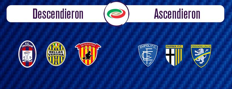 Ascenso y descenso en la Serie A