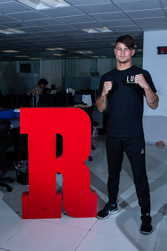 Lopes se encuentra preparado para su participación con Lux Fight League