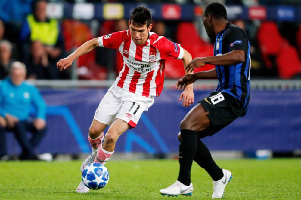 Chucky Lozano, en el XI ideal de septiembre en la Eredivisie