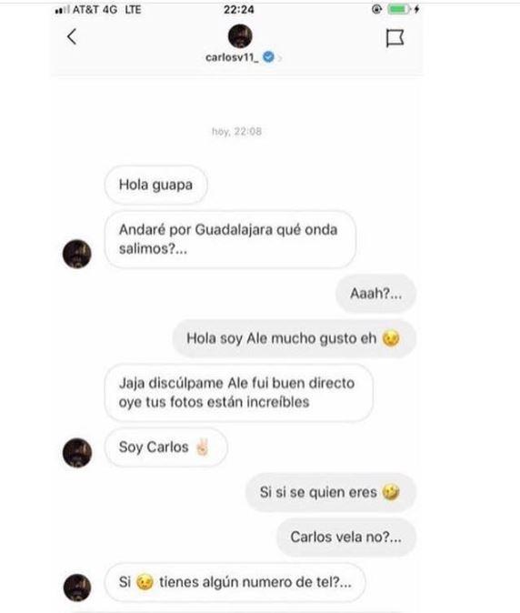 Carlos Vela intentó ligarse a chica transgénero... ¡y lo quemaron en Facebook!