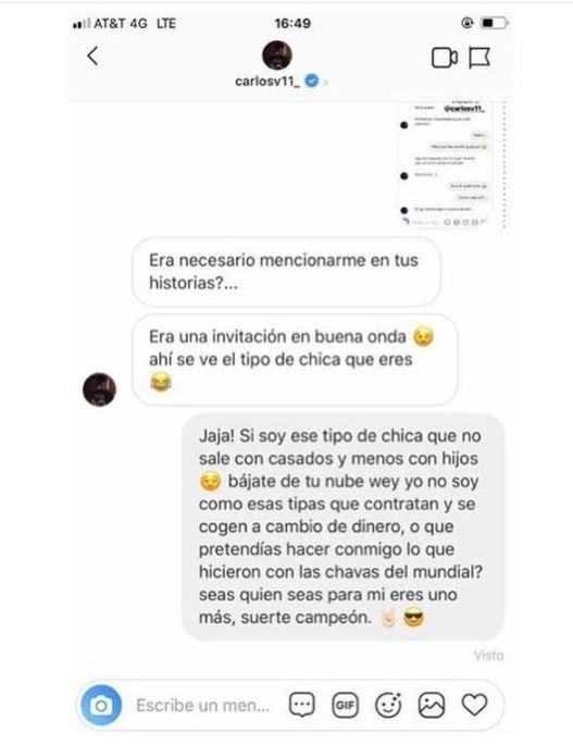 Carlos Vela invitó a salir a transexual y resultó bateado