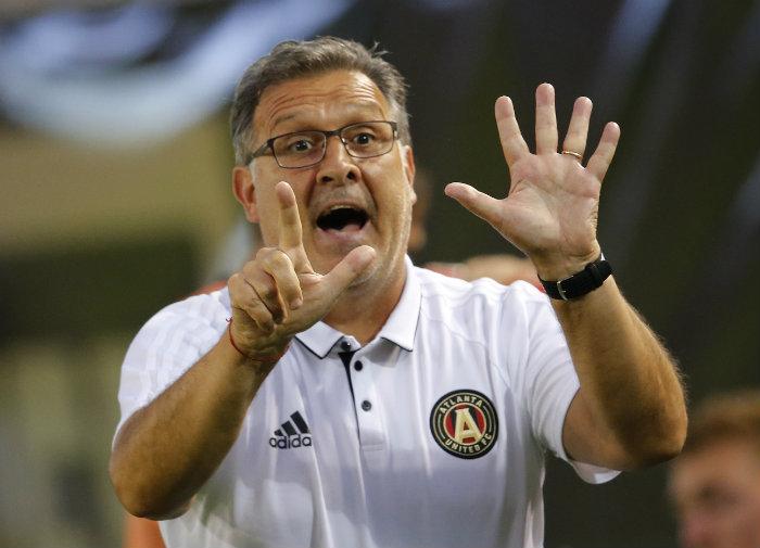 El Tata Martino se despide del Atlanta y omite al Tri