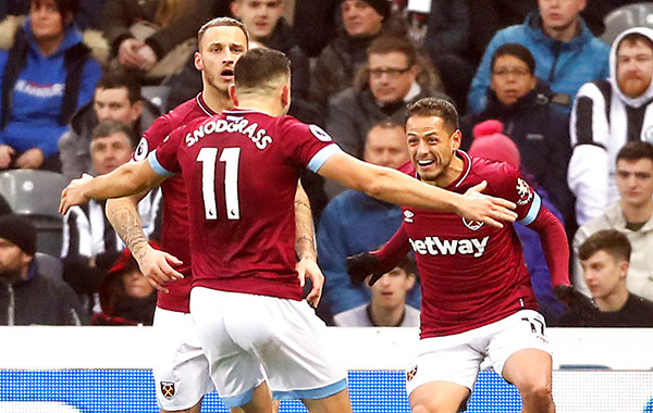 Chicharito y West Ham, a sacar la cara frente al Crystal Palace
