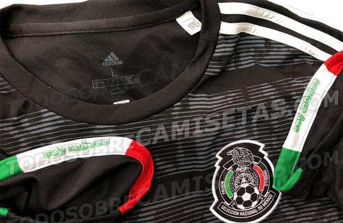 Filtran posible playera de la Selección Mexicana para 2019