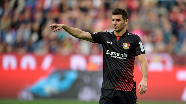 Lucas Alario, durante un partido de las Aspirinas