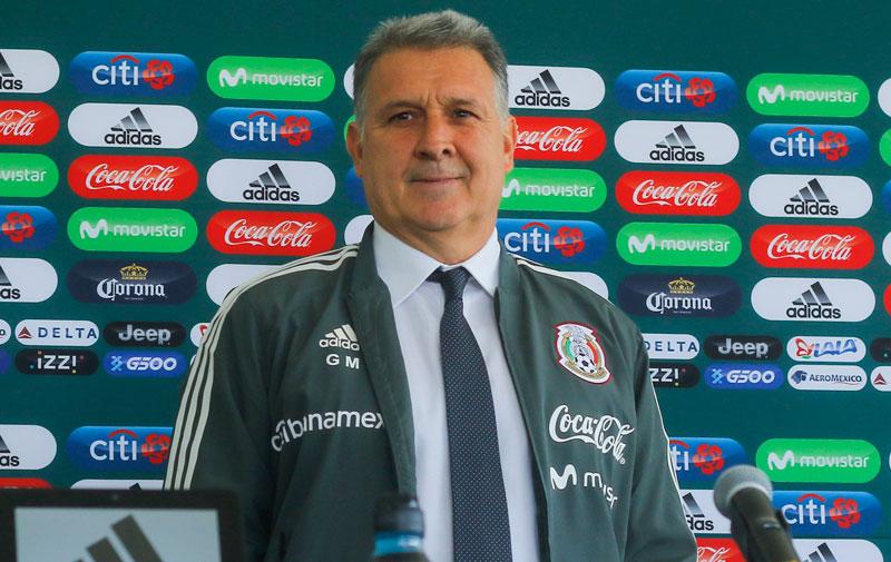 Martino, en su presentación como DT del Tricolor