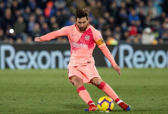 Messi, otra vez en el once ideal de la UEFA