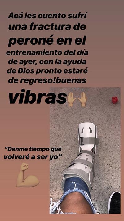 La 'Instagram Story' de Canelo