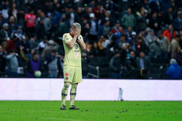 Guido Rodríguez en lamento tras caer ante Rayados