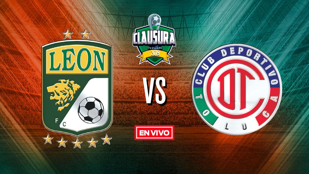 León vs Toluca Liga MX en vivo y en directo Jornada 7 Clausura 2019 df462195c60e9