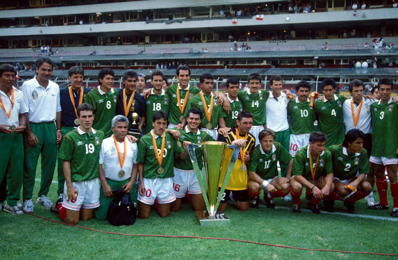 La Selección Mexicana en la Copa Oro de 1993