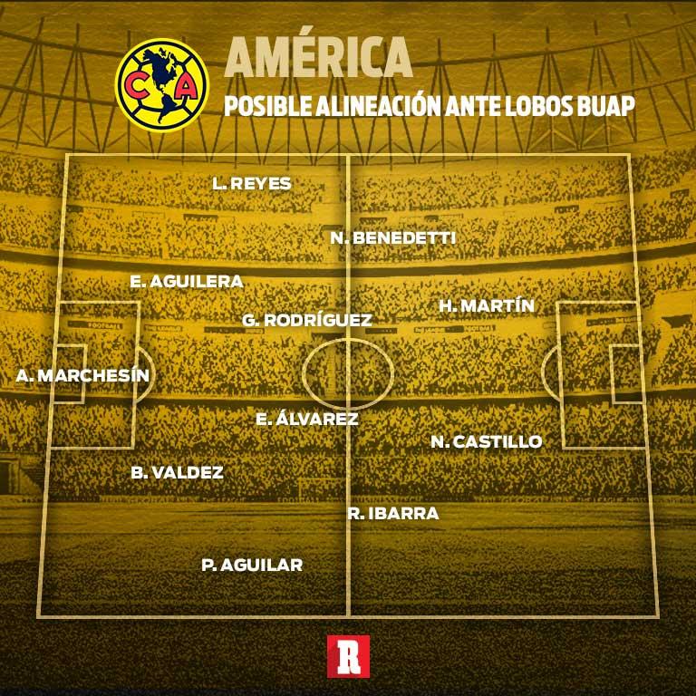 Nicolás Castillo fue figura en la goleada del América