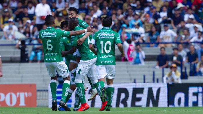 León vence a Pumas con gol y expulsión de JJ Macías