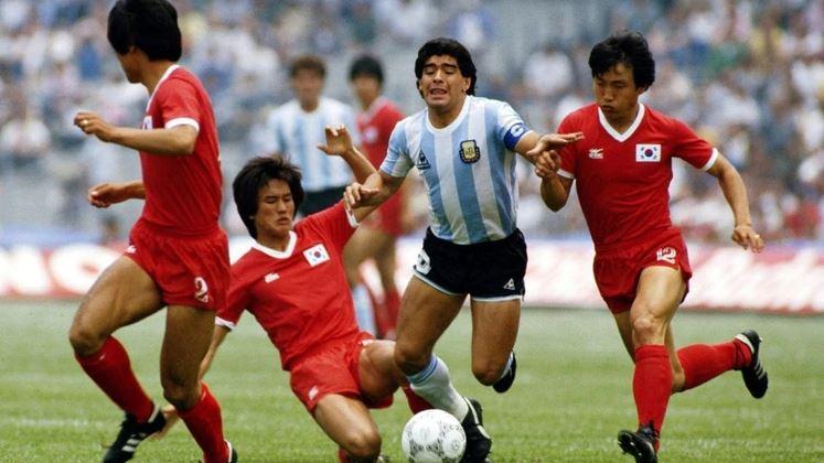 Maradona ante Corea del Sur en CU 5d79a7a69d9