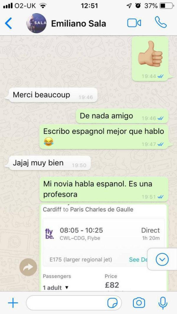 Conversación con Emiliano Sala