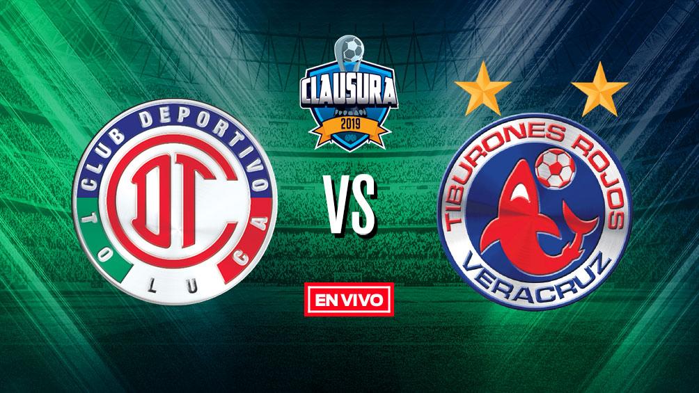 Toluca vs Veracruz Liga MX en vivo y en directo Jornada 9 Clausura 2019 8bc252fd98036