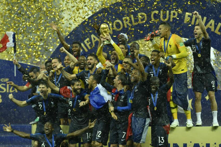 Francia fue el Campeón de la Copa del Mundo de 2018