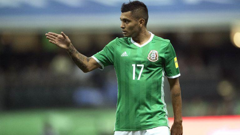Jesús Corona durante un encuentro ante la Selección de Panamá