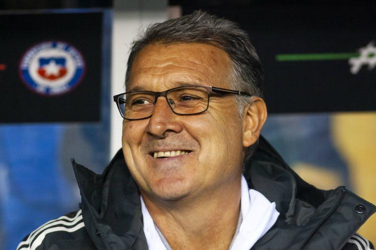Gerardo Martino, satisfecho con el triunfo ante Chile