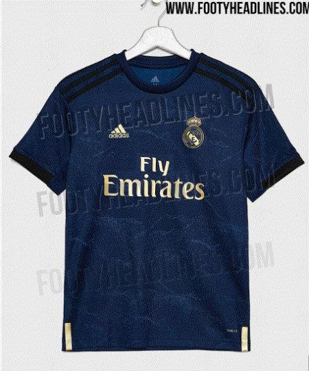 a8a2c5688 Revelan posible jersey de visitante de Real Madrid para la temporada ...