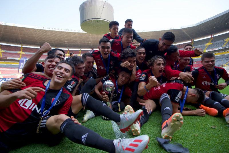 ¡Atlas es campeón de la Sub 20 en el Clausura 2019!