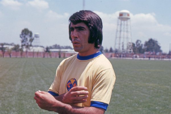 Carlos Reinoso cuando era jugador del América