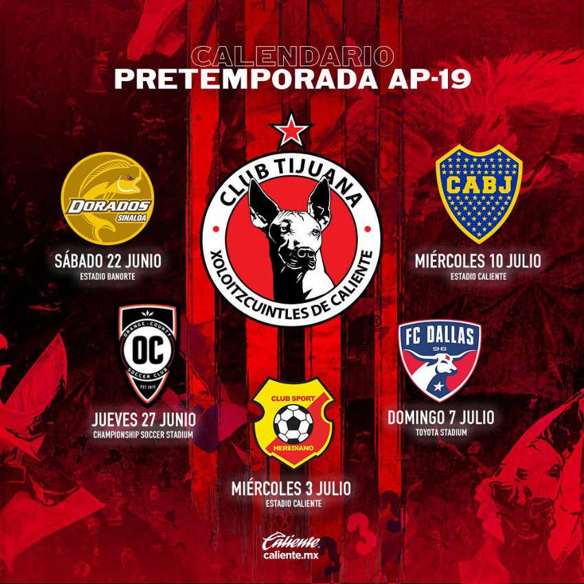Va Xolos contra Boca en pretemporada -Reforma - 31/05/2019   Periódico Zócalo