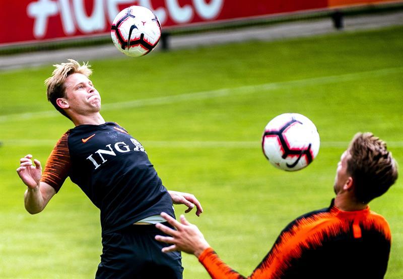 El zasca de Van Gaal a De Jong: