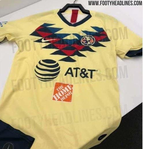 Elástica de las Águilas que usaría en el Apertura 2019