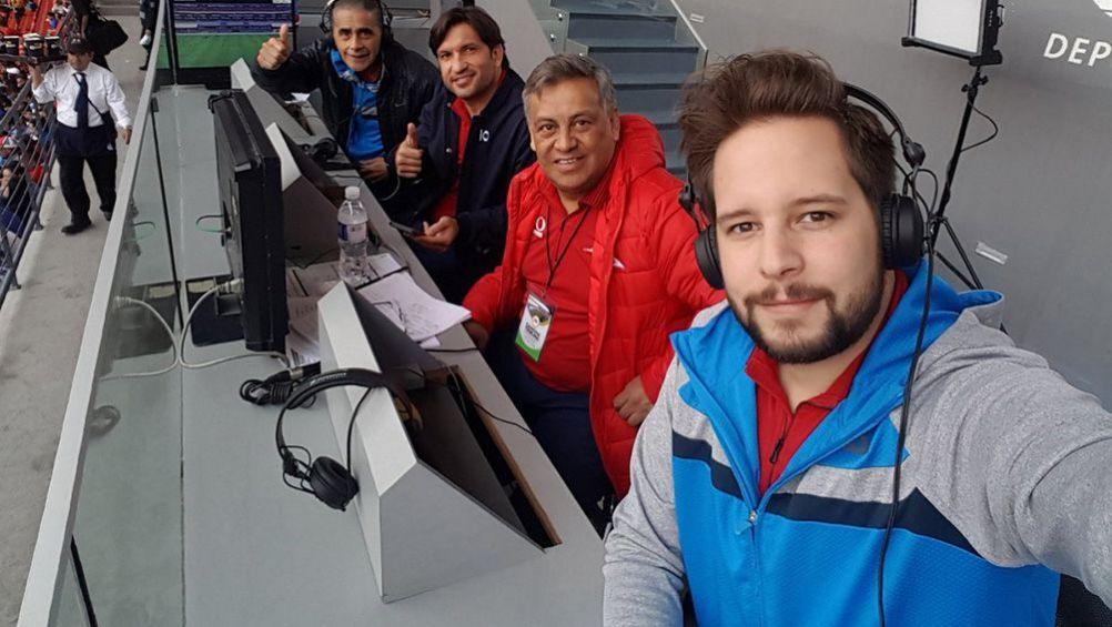 Pollo Ortiz regresa a la TV como narrador de Fox Deportes