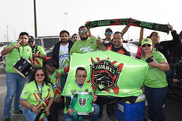 Afición de Juárez, previo a la Final de la Copa MX